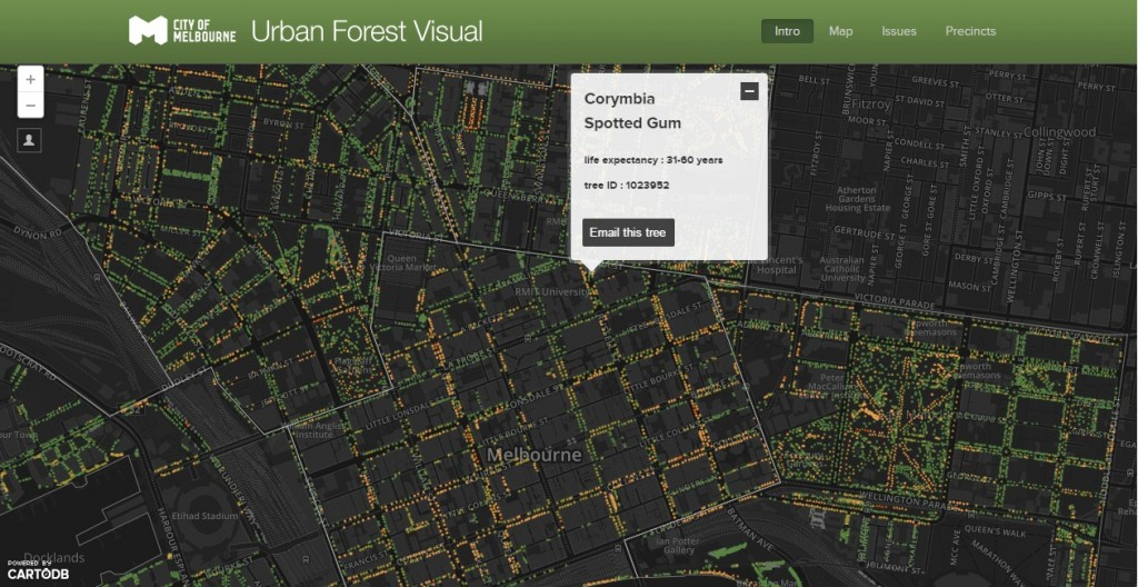 Urban Forest Visual
